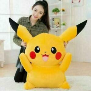 60cm Pikachu Puppe Plüschtier POKEMON Stofftier Kuscheltier Kuscheltiere DE