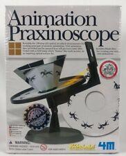 Animation Praxinoscope 4M Optical Science Stop Motion Scope Zoetrope Toy E3