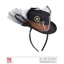 Steampunk Mini Top Hat Headgear Headband Fancy Dress Costume Accessory 4b3fdf2835a9