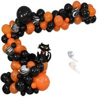 HAPPY Halloween Party Decoration Set Foil Balloons Pumpkin Ghost Halloween Q7N7