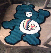 THANKS A LOT BEAR PATTERN IN 7 MESH PLASTIC CANVAS