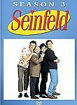 Seinfeld - Season 3 (DVD, 2004, 4-Disc Set) Beautiful Condition