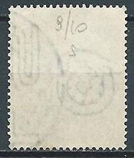 1952 TRIESTE A USATO SAVONAROLA FILIGRANA LETTERA - FL03