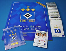 Panini Hamburger SV - 125 Jahre HSV Komplettset + Album + Update + Tüte