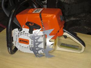 Stihl 044 MS440 MS441 dog dawg spike front cover Steel skeletonize laser
