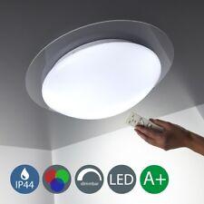 LED Decken-Leuchte Wohnzimmer dimmbar Farbwechsel Bad-Lampe IP44 +Fernbedienung
