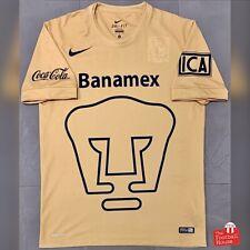 Authentic Nike UNAM Pumas 2014/15 Home Jersey. Size M, Excellent Condition.