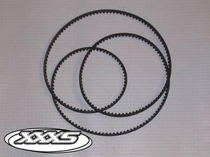 TEAM LOSI XXX-S Belt Custom Made (Replacement for Original Belt) LOSA3208 New!!