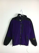 Women's Size 10 Mountain Hardwear VINTAGE USA MADE Purple PolarTec Fleece Jacket