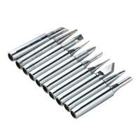 10pc 900M T Solder Iron Tips Kit For 936 938 969 8586 852D Soldering Station