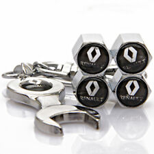 Universal Car Tyre Dust Cover Wheel Tire Valve Cap Wrench Keychain For Renault