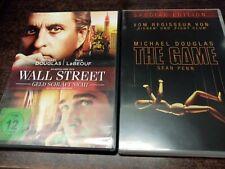 Michael Douglas - The Game / Wall Street DVD