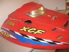 POLARIS XCF 2000 2001 HOOD red edge