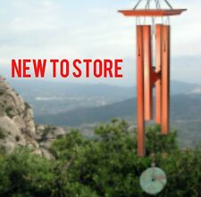 Woodstock Amber Chime Features a stunning stone windcatcher & Center Piece WABR