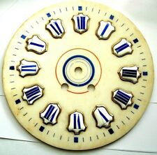 Cartouche Zifferblatt dial cadran albatre horloge Comtoise uhr cartel clock