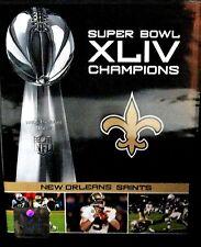 NFL: Super Bowl XLIV Champions - New Orleans Saints 2009 NEW! DVD Football colts