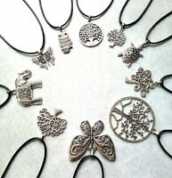 lot bijoux 20 colliers 10 modelés arbre de vie papillon tortue neuf/revendeur