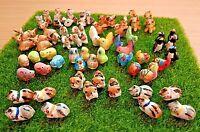 Amimals Miniature Ceramic Figurine Dollhouse Fairy Garden Accessories Decorative