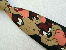 TAZMAINIAN DEVIL 3.75 inch polyester NECK TIE from 1997 LOONEY TUNES