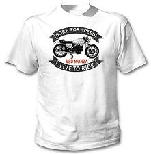 Moto GUZZI V50 Monza-Nuevo Camiseta Con Gráfico increíble S-M-L-XL - XXL