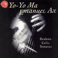 Brahms: Cello Sonatas Nos. 1 & 2 Johannes Brahms, Emanuel Ax, Yo-Yo Ma Audio CD