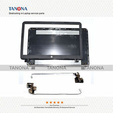 New HP 15-R029WM 15-R018DX 15-R011DX LCD back cover + Front Bezel + hinges