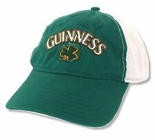 Guinness Beer Clover Shamrock Green Baseball Hat Cap New Official Merchandise