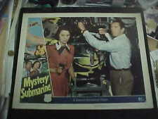 MYSTERY SUBMARINE, orig 1951 LC #4 [Macdonald Carey] in sub's torpedo room