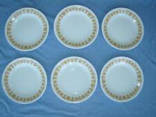 Corelle Golden Butterfly Dessert Plates – 6 Pieces