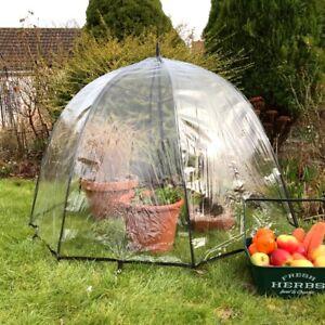 Pop n Crop Plant Umbrella Greenhouse & Bell Cloche