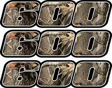 Camo 600 Decals Stickers 4x4 Grizzly Graphics Sticker Snowmobile Quad ATV skidoo