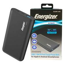 Energizer Ultimate UE20006PQ 20000mAh USB-C 18W PD Fast Charge Power Delivery