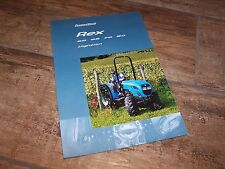 Prospectus / Brochure Tracteur LANDINI Rex 60/65/70/80 Vigneron 2000 //