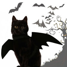 Halloween Black Bat Wings for Cat Pet Costume Cosplay Suppiles Small Dog Cloth