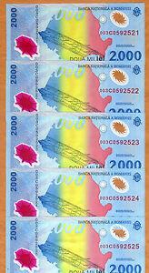 LOT Romania, 5 x 2000 Lei 1999, FIRST POLYMER, P-111, UNC