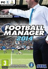 Football Manager 2014 (PC DVD) New and Sealed #K2022