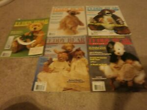 5 VINTAGE Teddy Bear Review Magazine  96  PAGES 2000 j 1/2 5/12