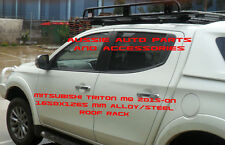 Fully Enclosed Deluxe Alloy Roof Rack 1650mm for MITSUBISHI TRITON MQ 2015-18