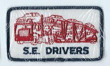 S E Drivers car hauler driver patch 2-5/8 X 4-1/2