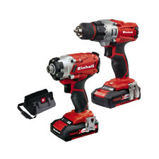 Einhell Perceuse Batterie Clé Impulsions 2 Batterie Charge Rapide 18V