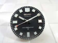 NEW SEIKO REPLACEMENT WHITE LUME DIAL & HANDS FITS 6105-8110/8119 DIVERS WATCH