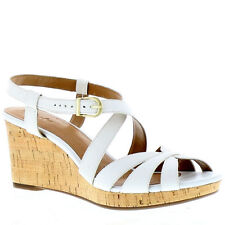Clarks Buckle Wedge Shoes for Women