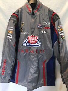 Farmers Insurance #5 Kasey Kahne Official NASCAR Racing Jacket Womens Large NWT