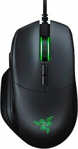 New, Razer Basilisk, Wired Gaming Mouse, 16000 DPI, 8 Programmable Buttons
