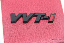 B158 VVTI Auto 3D Emblem Badge Aufkleber PKW KFZ emblema Car Sticker schwarz