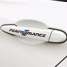 4pcs /// Performance Vinyl Decal Sticker For BMW M Sport Door Handle Stickers