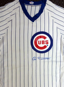 Leo Durocher Authentic Autographed Signed Chicago Cubs Jersey PSA/DNA #V09866
