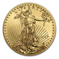 2017 1 oz Gold American Eagle BU - SKU #117271