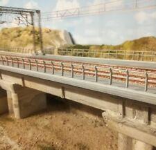 parapetto ringhiera plastico ferroviario diorama h0