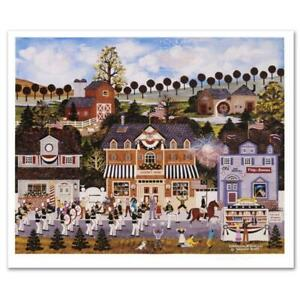 """Jane Wooster Scott """"Celebration of America"""" Hand signed Limited Ed. Lithograph"""